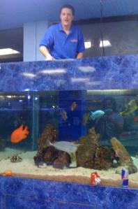Lev Ingman Fish Tank